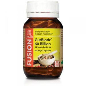 Fusion Health GutBiotic 60 Billion 14 strain Probiotic